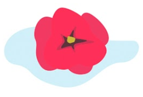 En vergeet het bloemetje voor op tafel niet